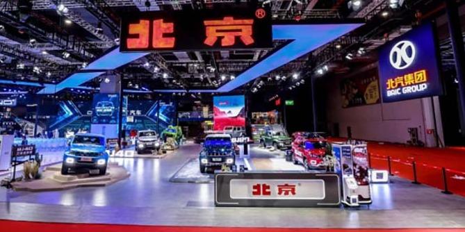 两款重磅车型首发 北京越野上海车展阵容
