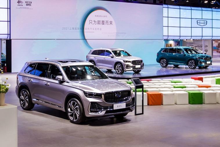 上海车展:吉利星越L定义紧凑型SUV新标准