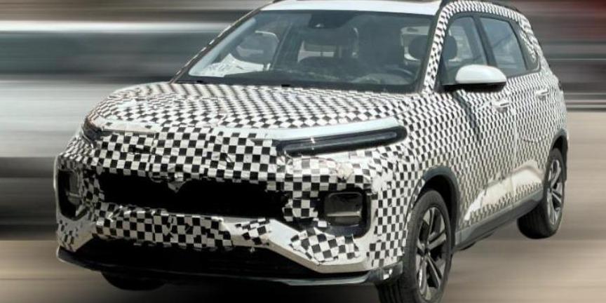 基于骏RM-C概念车打造 宝骏全新SUV谍照