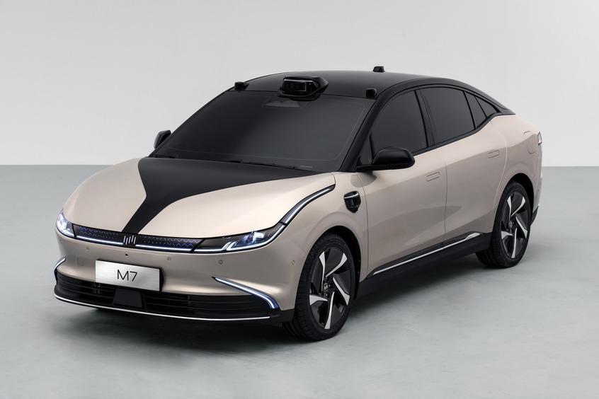 威马M7全球首发 全场景智能驾驶体验到来