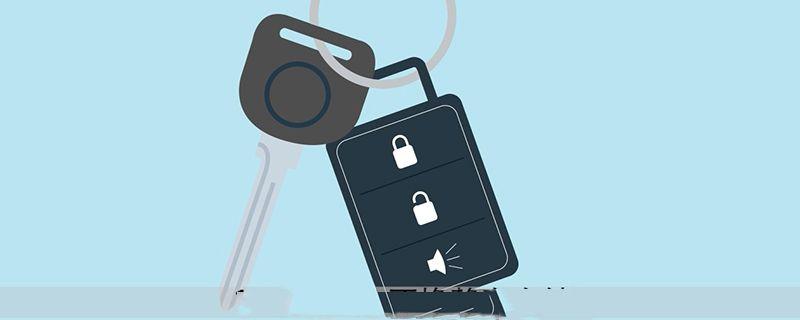 路虎机械钥匙怎么开门