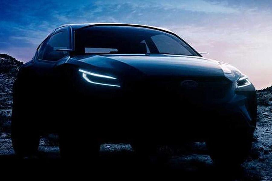 斯巴鲁Viziv Adrenaline概念车预告 日内瓦首秀