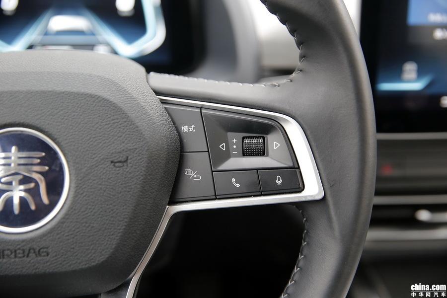秦Pro新能源 2018款 EV500 智联领耀型 内饰