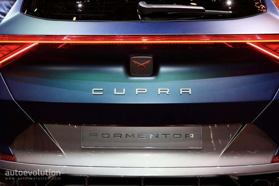 插电式混动走向日内瓦 Cupra Formentor概念车