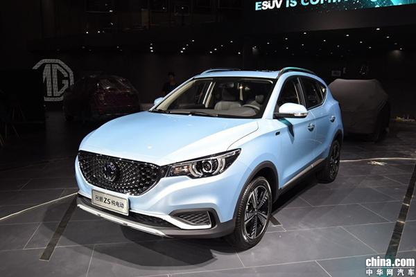报价11.98-14.98万 名爵纯电动SUV EZS正式上市