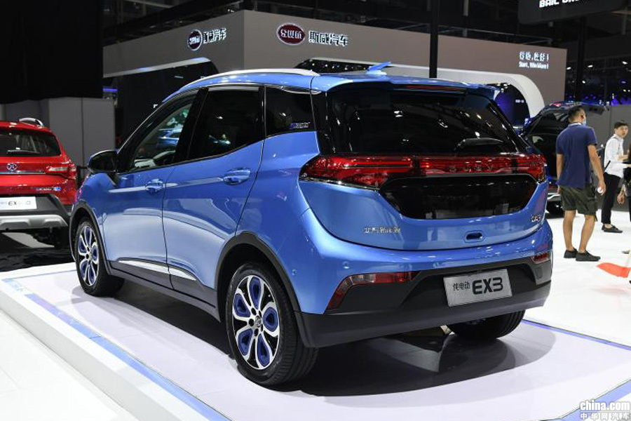 两款车型重磅亮相 北汽新能源上海车展阵容曝光
