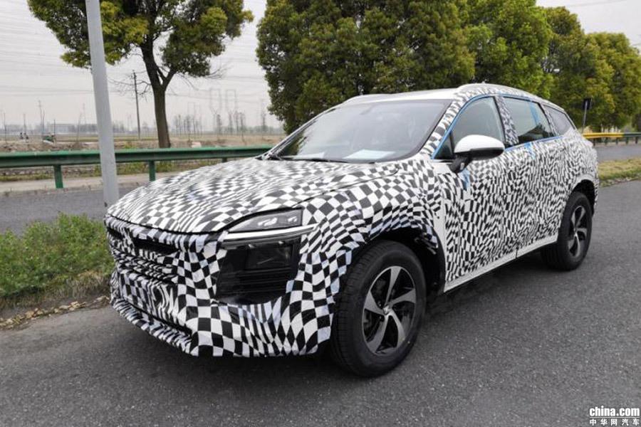 将于上海车展发布 众泰全新紧凑型SUV谍照曝光