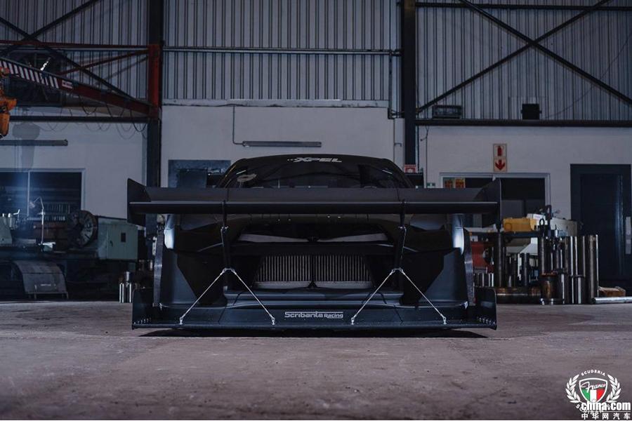 超夸张空气动力套件 曝日产GT-R爬山赛车
