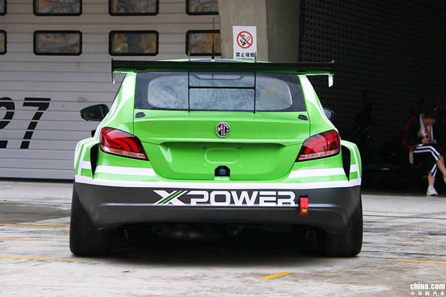 即将征战WTCR赛事 名爵6 XPOWER TCR版正式亮相