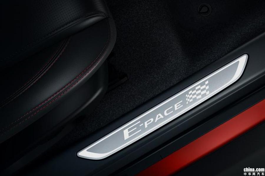 售价约35.17万元 捷豹E-PACE赛旗版官图发布