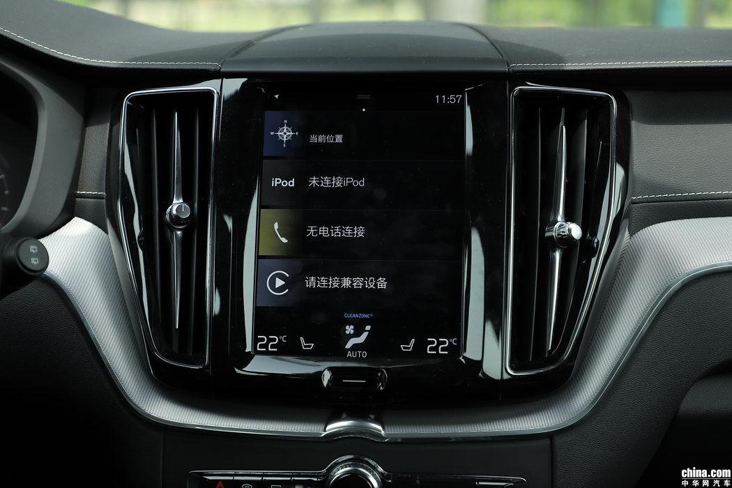 沃尔沃XC60 2019款 T5 四驱智雅运动 内饰