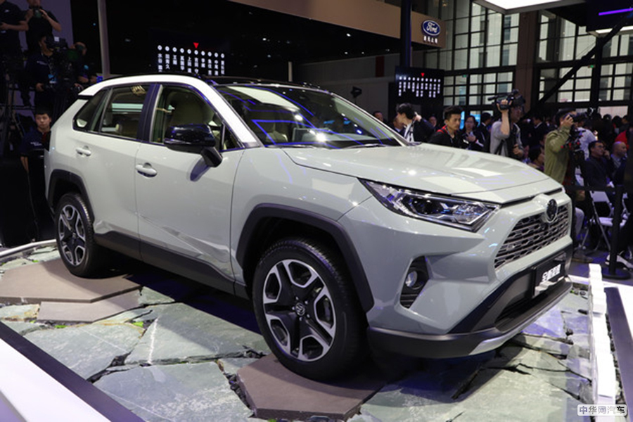 运动又拉风 丰田新一代RAV4将在10月正式上市