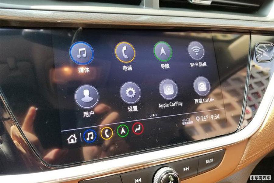 主打紧凑型SUV市场 别克昂科拉GX内饰正式亮相