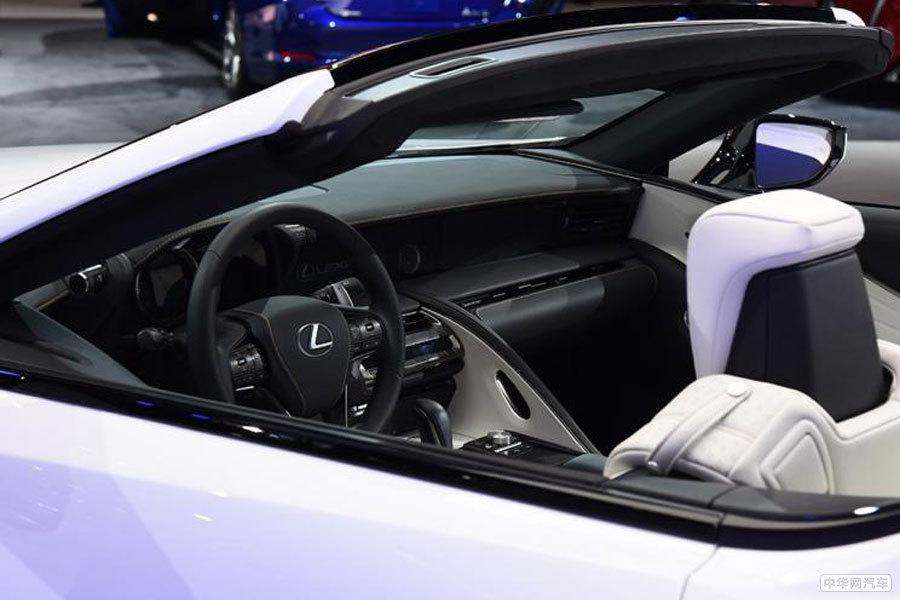 将于7月4日首次亮相 雷克萨斯LC敞篷版量产车消息