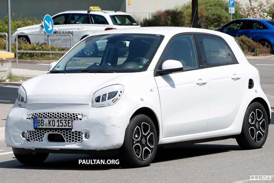 明年上市 新款smart EQ系列将亮相法兰克福车展