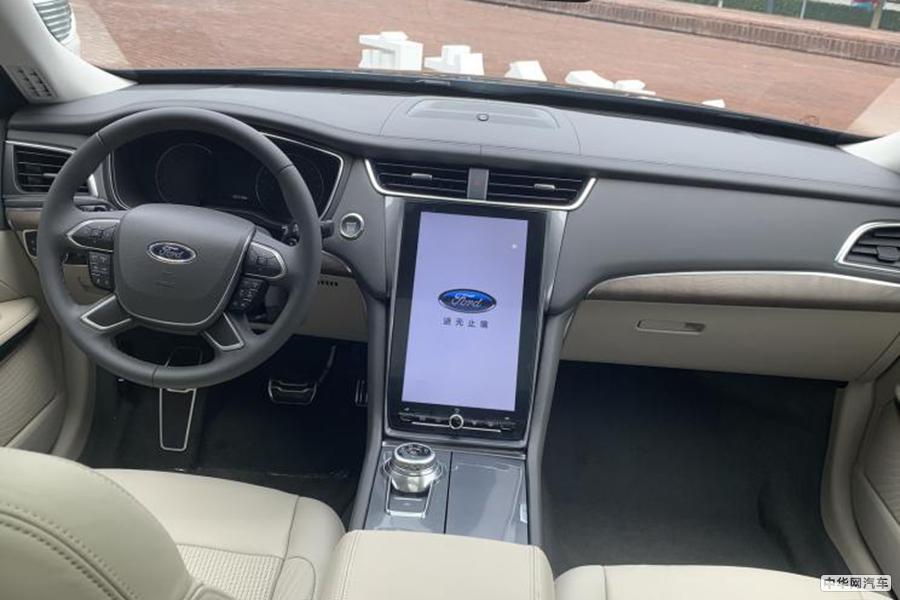 配超大尺寸中控屏 新款福特金牛座正式发布