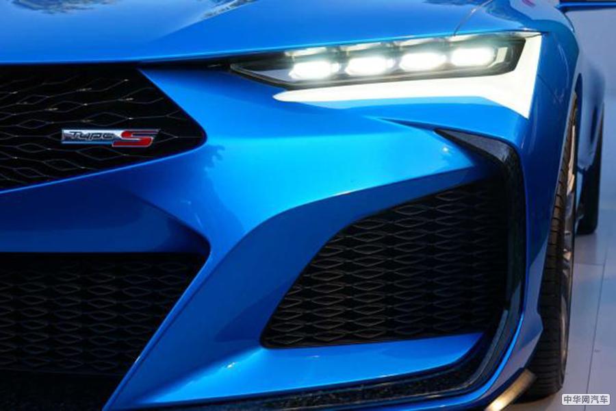 颜值出众 讴歌Type S概念车亮相原石滩车展