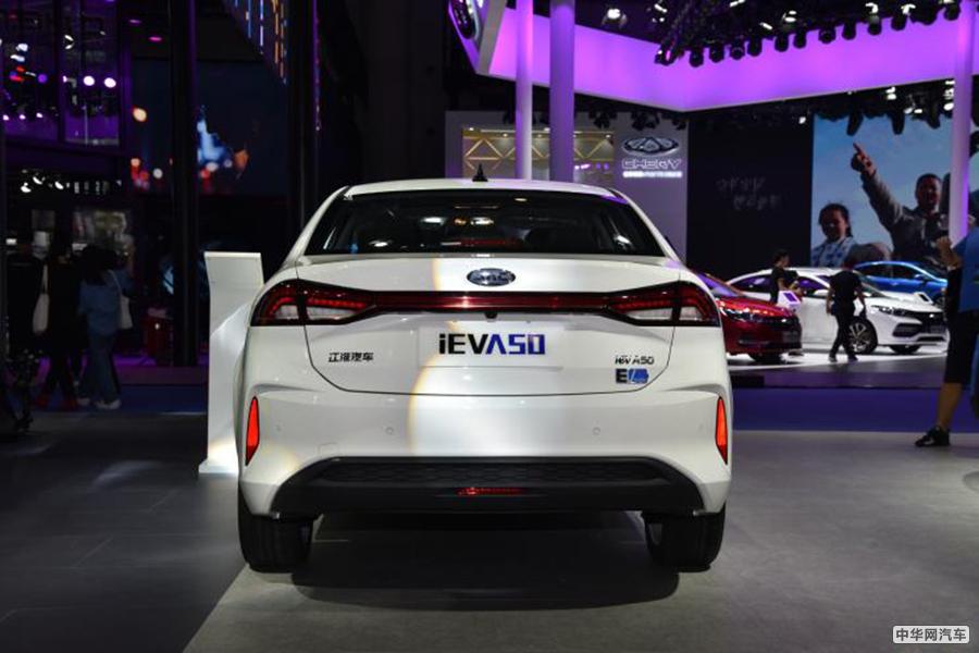 补贴后售价13.95万 江淮iEVA50新车型上市