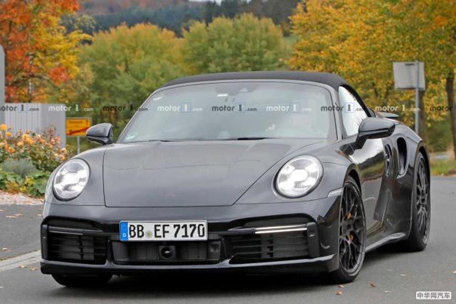 将于今年11月正式首发 新911 Turbo敞篷版谍照曝光