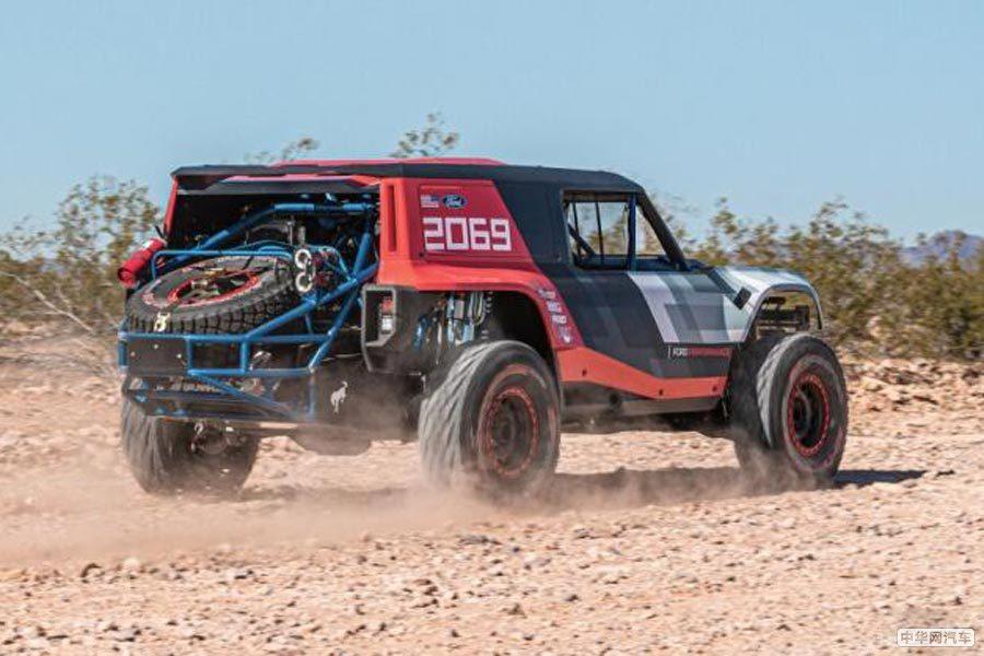 量产版抢先预览 福特Bronco R原型车官图发布