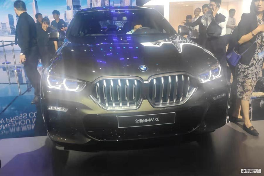 2019广州车展 全新宝马X6正式上市 售价76.69万元起