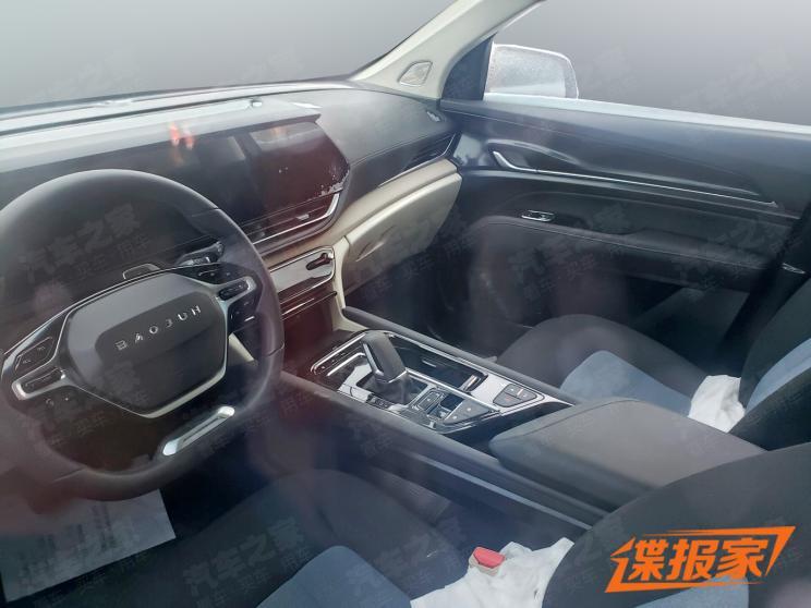 6座/7座可选 新宝骏RS-7中大型SUV谍照曝光