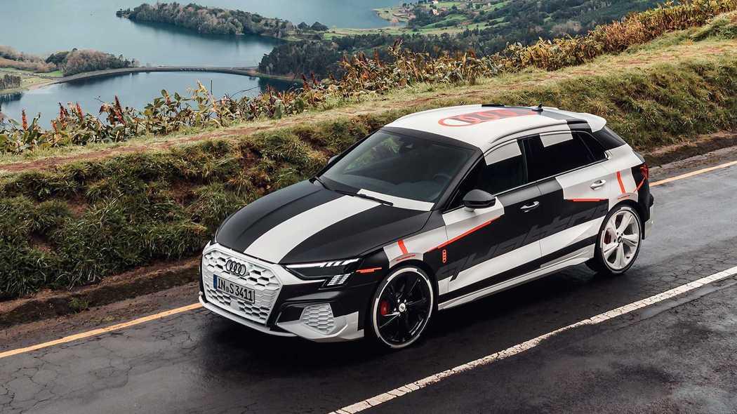 2.0T引擎再被压榨 新一代奥迪S3原型测试车发布