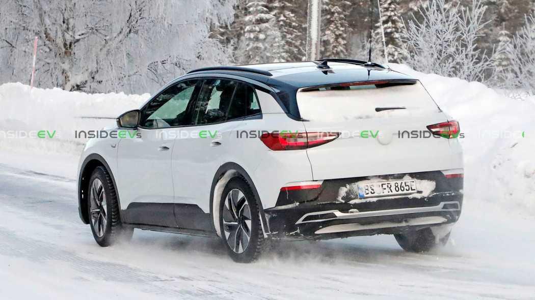 明年推向全球市场 大众ID.4原型测试车曝光