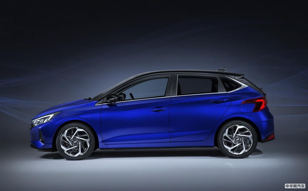 将于日内瓦车展首发 新一代现代i20官图发布