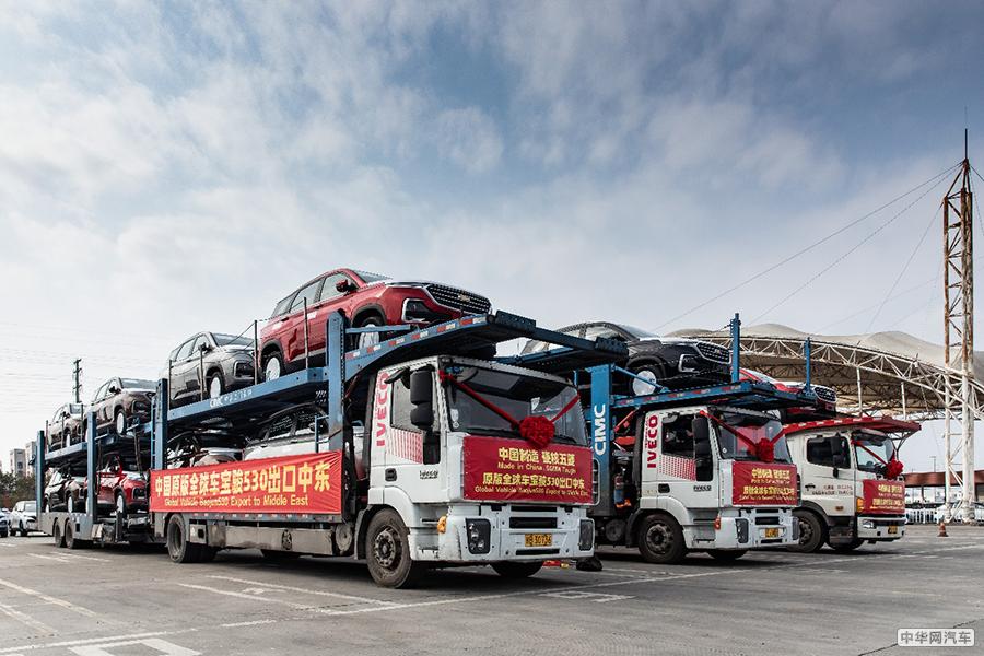 中国制造硬核五菱 原版全球车宝骏530出口中东