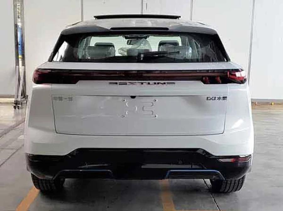或将于4月底正式上市 奔腾纯电动SUV-E01申报图