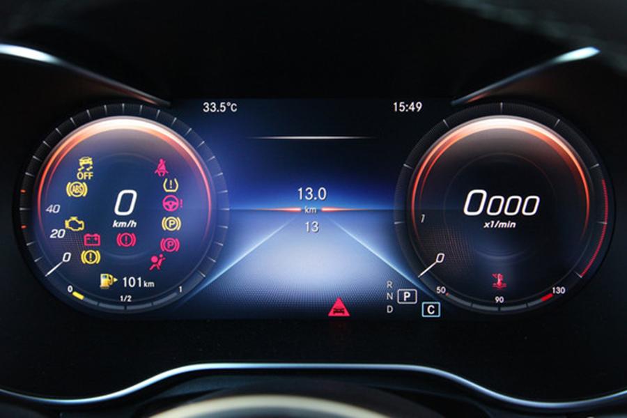 标配全液晶仪表 北京奔驰GLC级2020款改款上市
