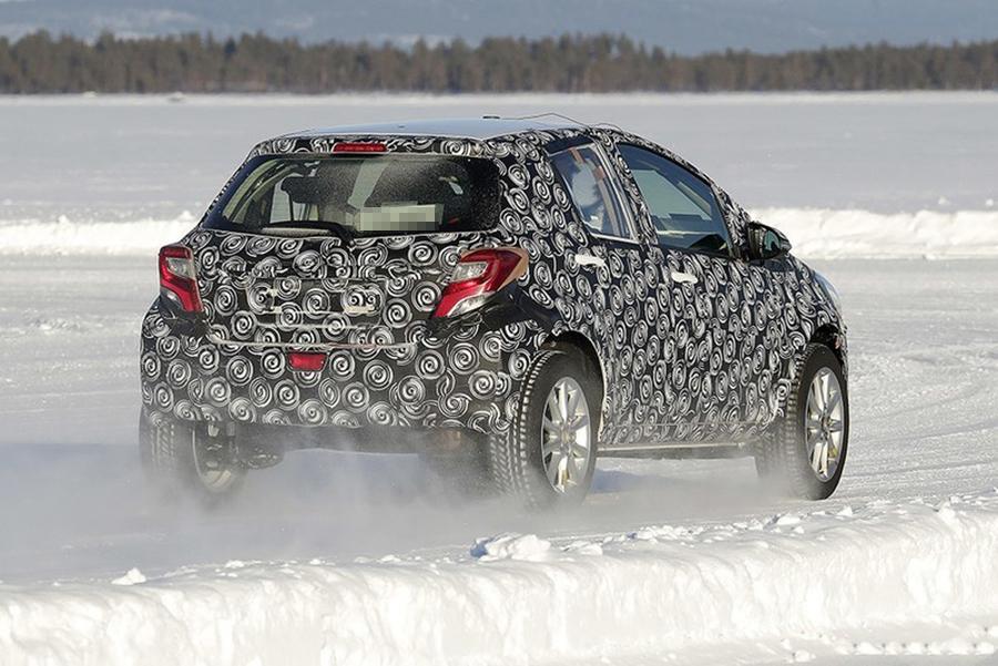 或明年3月率先登欧洲市场 丰田全新SUV谍照曝光