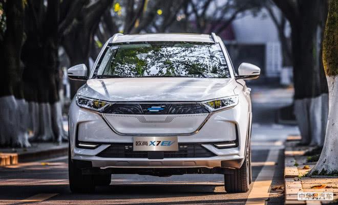 长安科尚EV今日上市 欧尚X7 EV将于今日公布售价