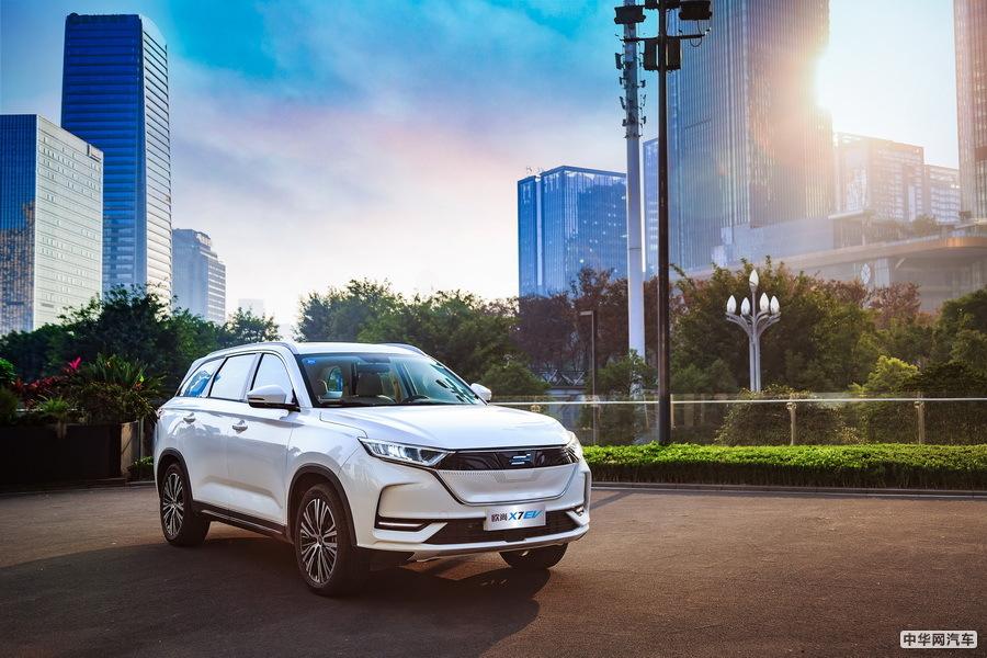 欧尚X7 EV/科尚EV发布 长安欧尚布局新能源产品