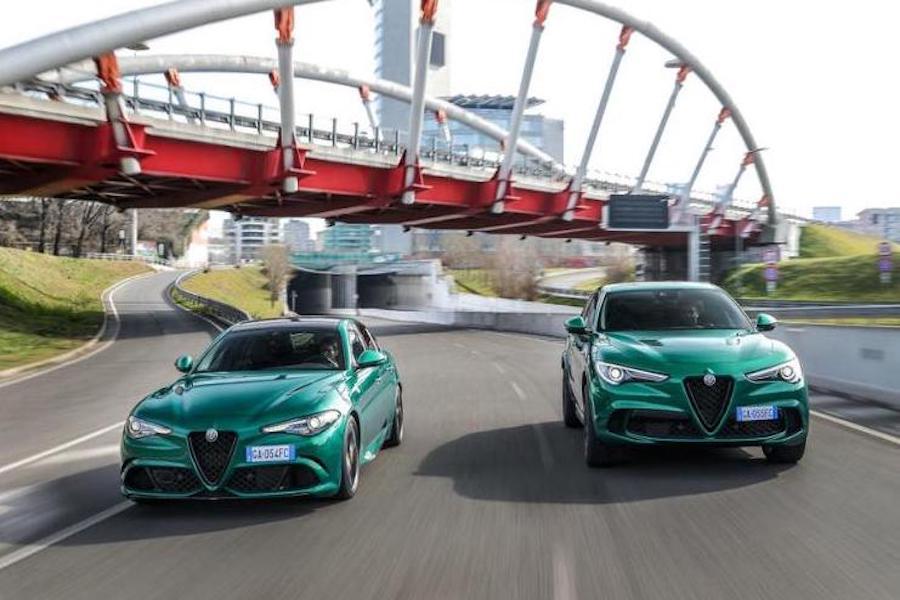 颜色明艳鲜亮 阿尔法·罗密欧两款新车官图发布
