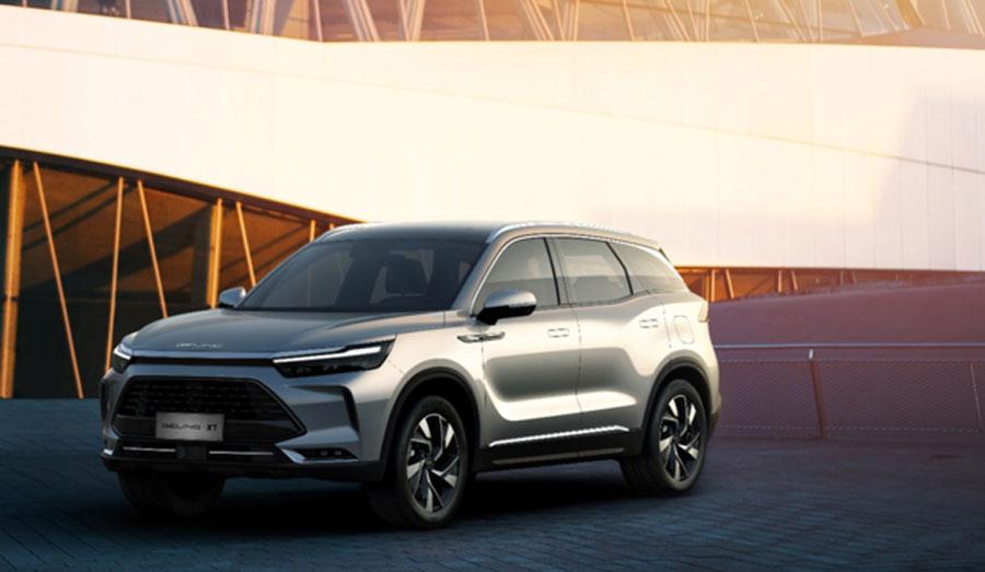 定位中型SUV BEIJING X7将于5月份开启预售