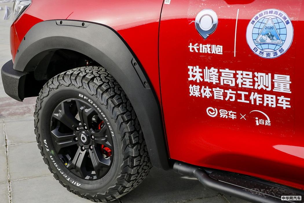炮 2019款 2.0T自动汽油四驱尊享版GW4C20B 组图