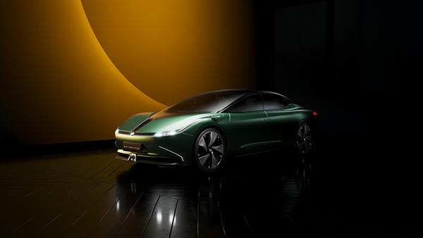 威马Maven概念车将量产,科技智能值得期待!