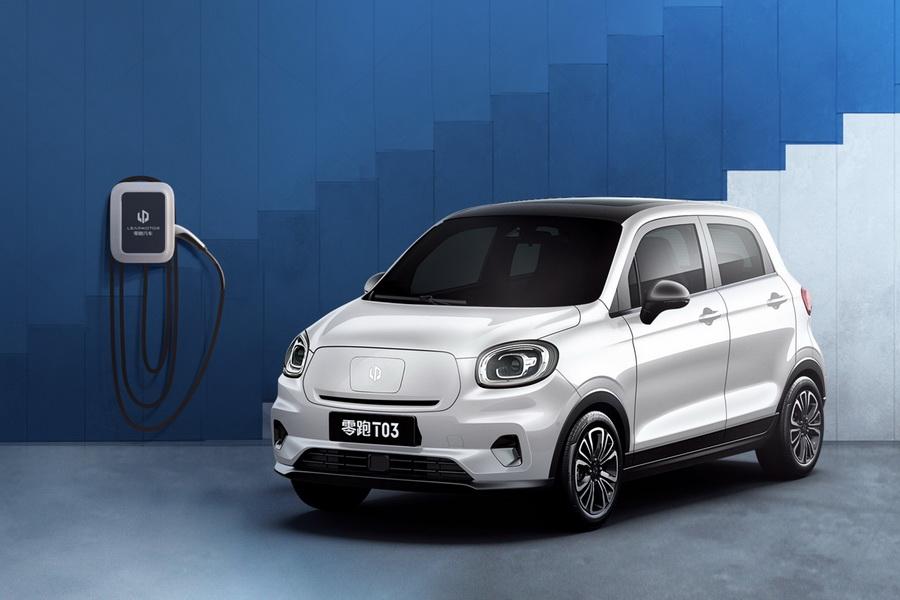补贴后售6.58-7.58万元 零跑T03微型电动车上市