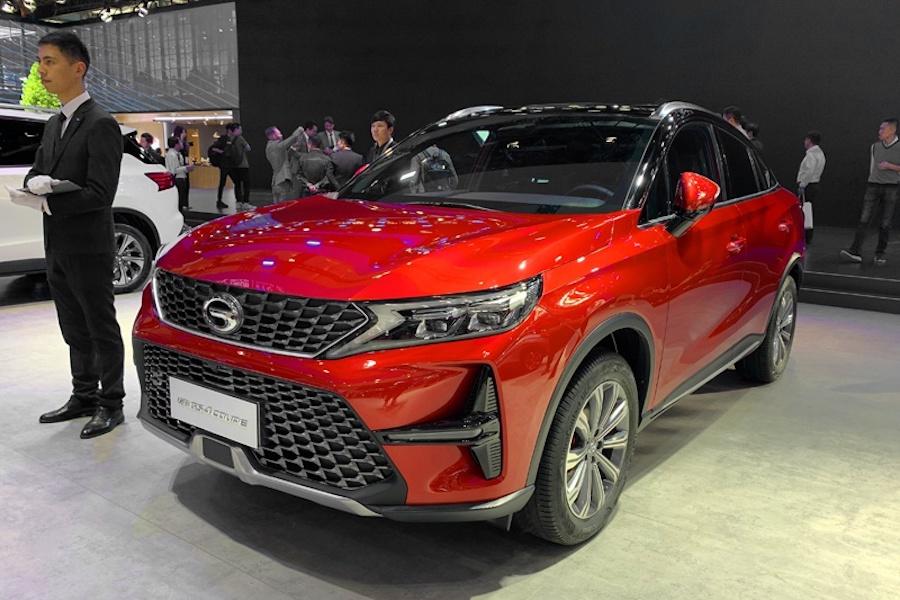 全新轿跑SUV 广汽传祺GS4 Coupe将于5月20日上市
