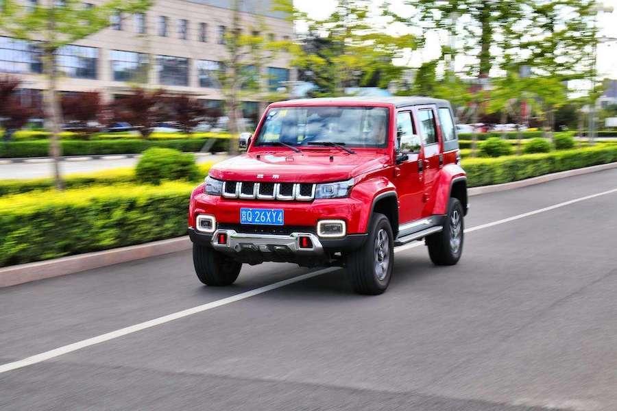 有望于5月27日上市 新款北京BJ40特别版信息曝光