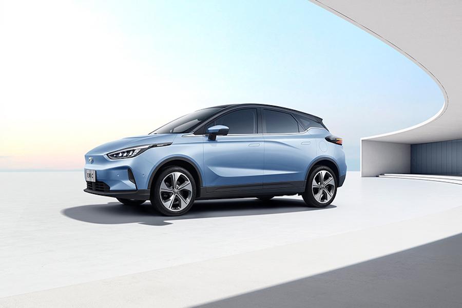 全球首款量产无人驾驶纯电SUV 几何C官图曝光