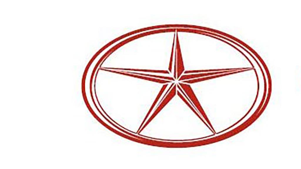 有星星的车标