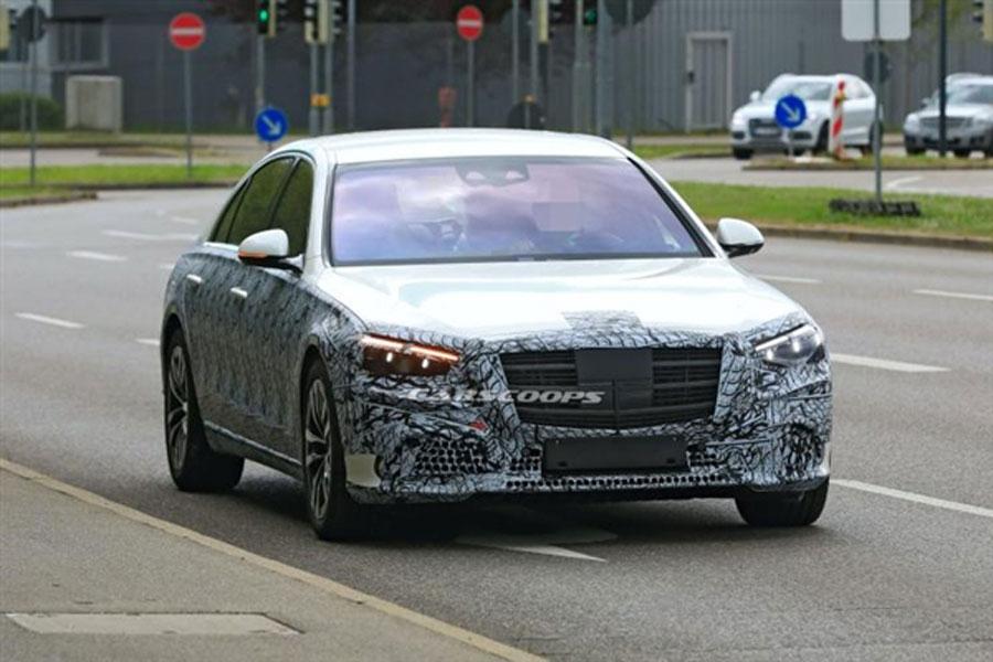 将于9月份亮相 全新奔驰S级将提供四驱版车型