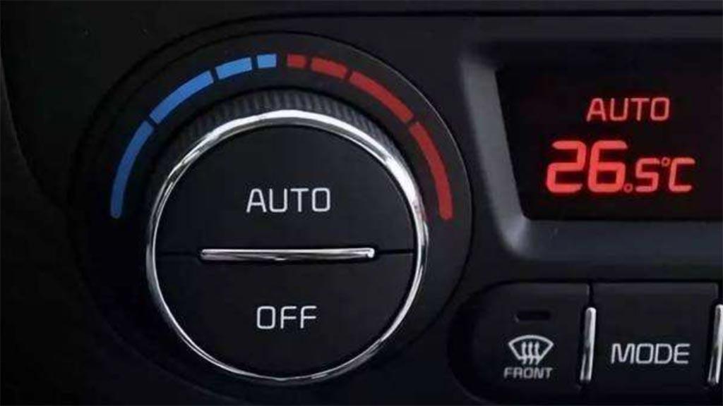 汽车空调热风怎么开