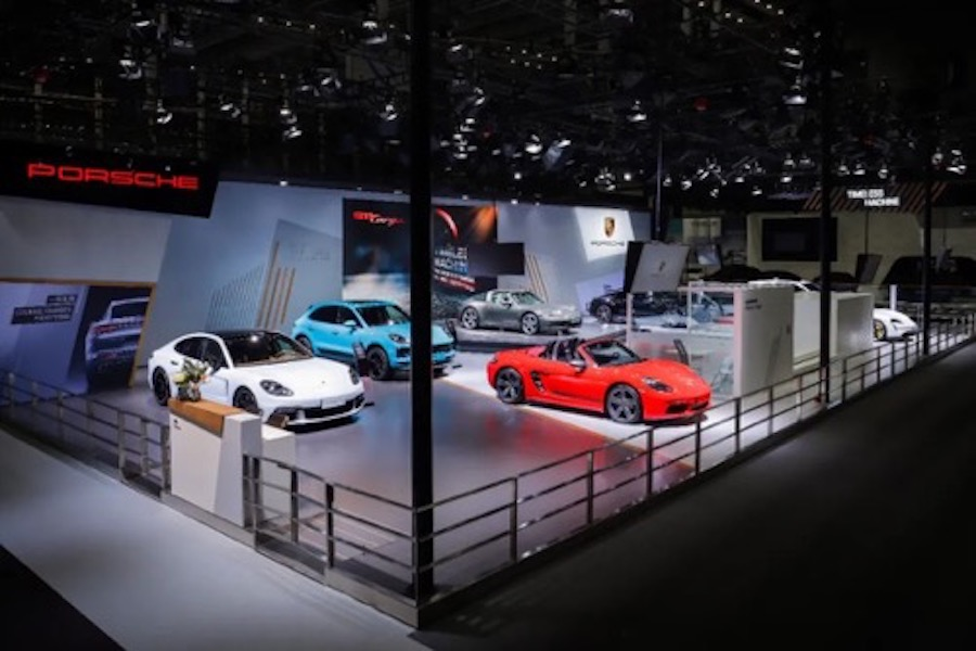 深圳车展开幕 保时捷全新 911 Targa 全球首秀