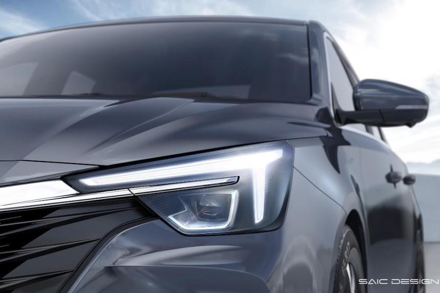命名荣威i6 MAX 荣威新车外观细节图首次曝光