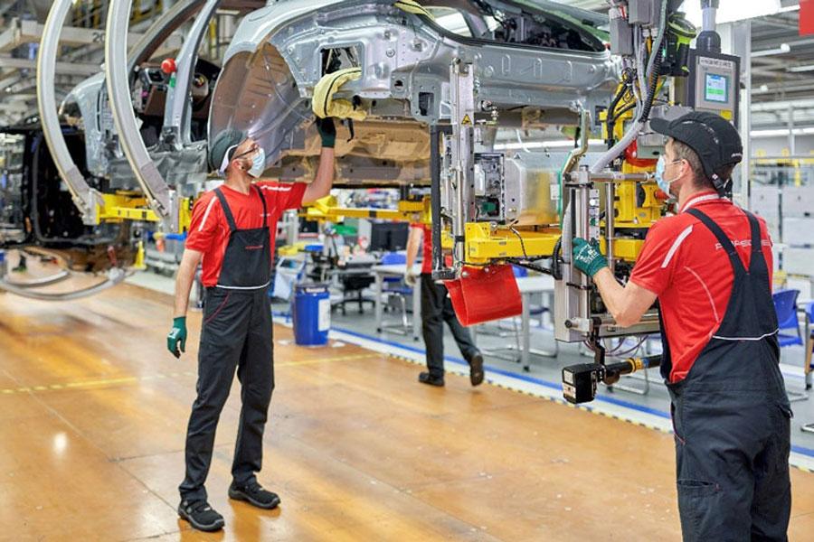 纯电版Macan跃跃欲试 保时捷莱比锡工厂加速扩建