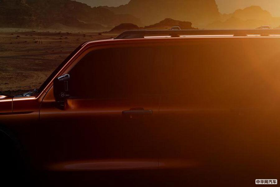 """""""方盒子""""造型超有范儿 WEY全新SUV细节图曝光"""